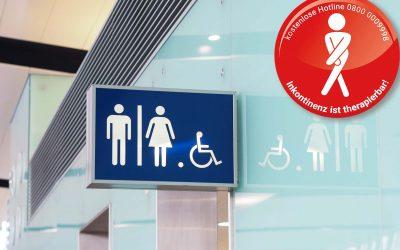 Inkontinenz ist therapierbar:   Aktiv gegen Blasenschwäche