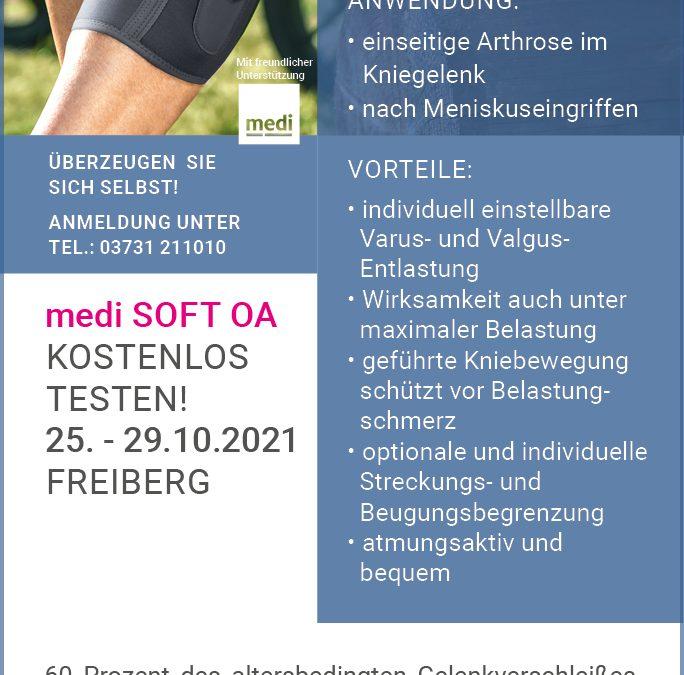 Orthesen Testtage in Freiberg